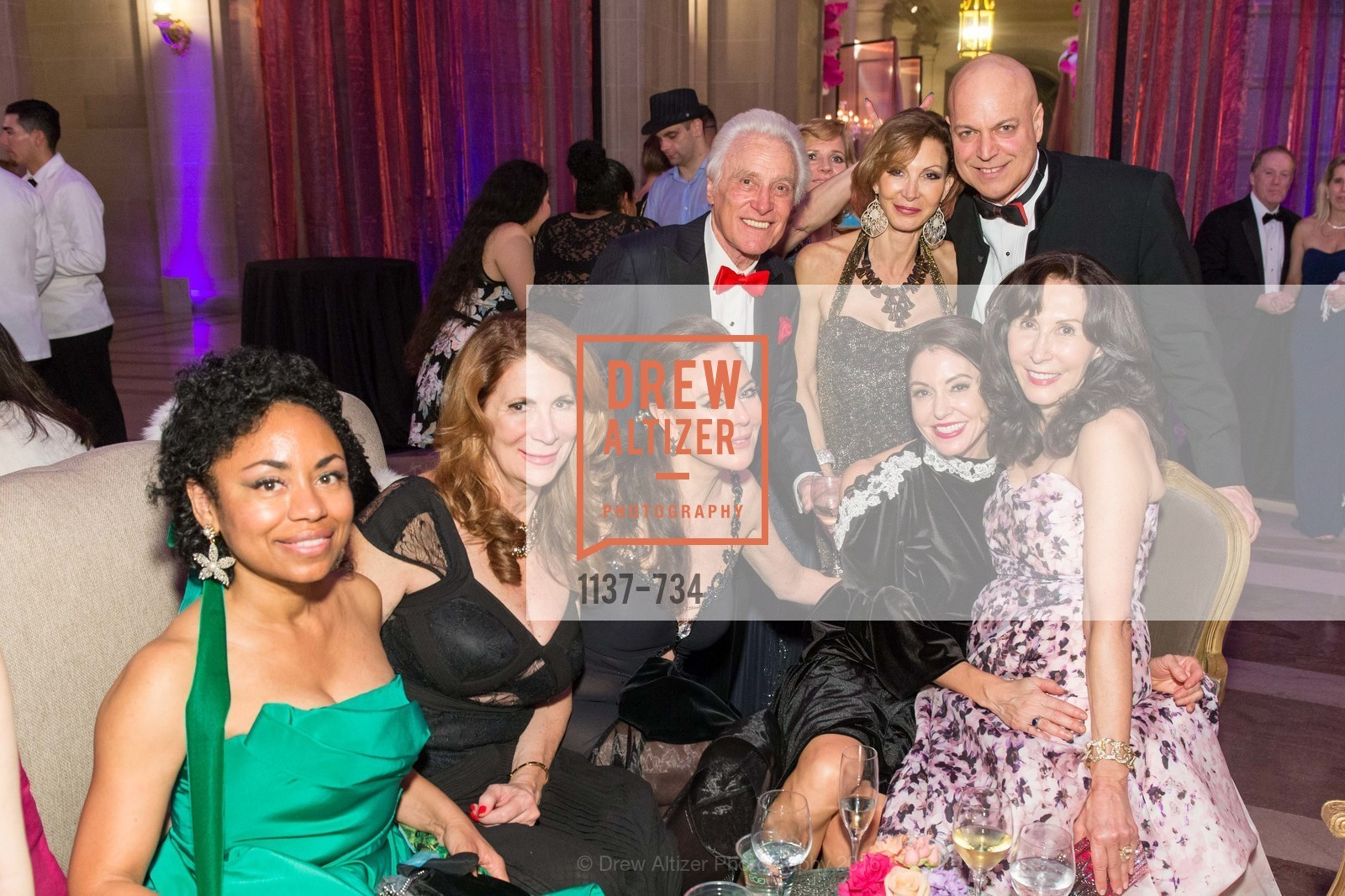 Tanya Powell, Patricia Ferrin Loucks, Margaret Mitchell, Marybeth Lamotte, Carolyn Chandler, Freddy Clark, San Francisco Ballet 2016 ENCORE! Opening Night Gala, San Francisco City Hall. 1 Dr Carlton B Goodlett Pl, January 21st, 2016,Drew Altizer, Drew Altizer Photography, full-service agency, private events, San Francisco photographer, photographer california