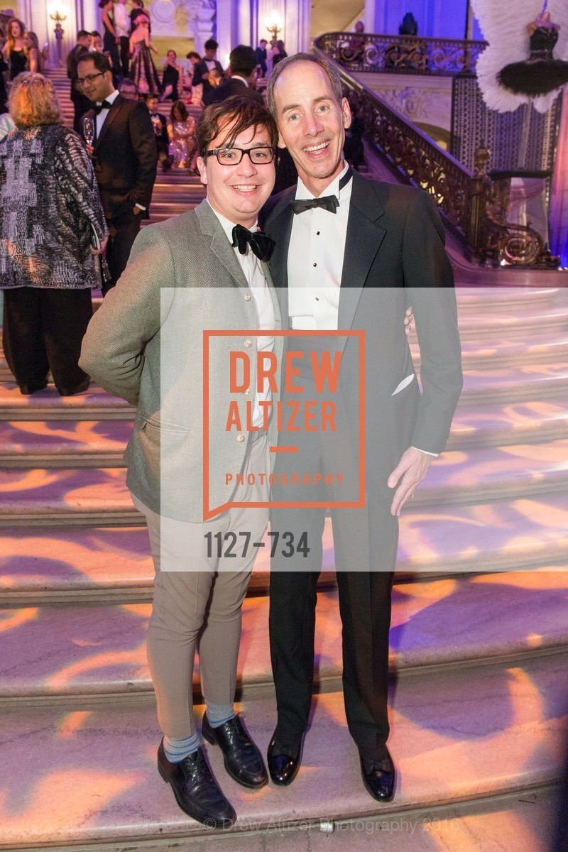 Christopher Wiseman, Tom Larsen, San Francisco Ballet 2016 ENCORE! Opening Night Gala, San Francisco City Hall. 1 Dr Carlton B Goodlett Pl, January 21st, 2016,Drew Altizer, Drew Altizer Photography, full-service agency, private events, San Francisco photographer, photographer california