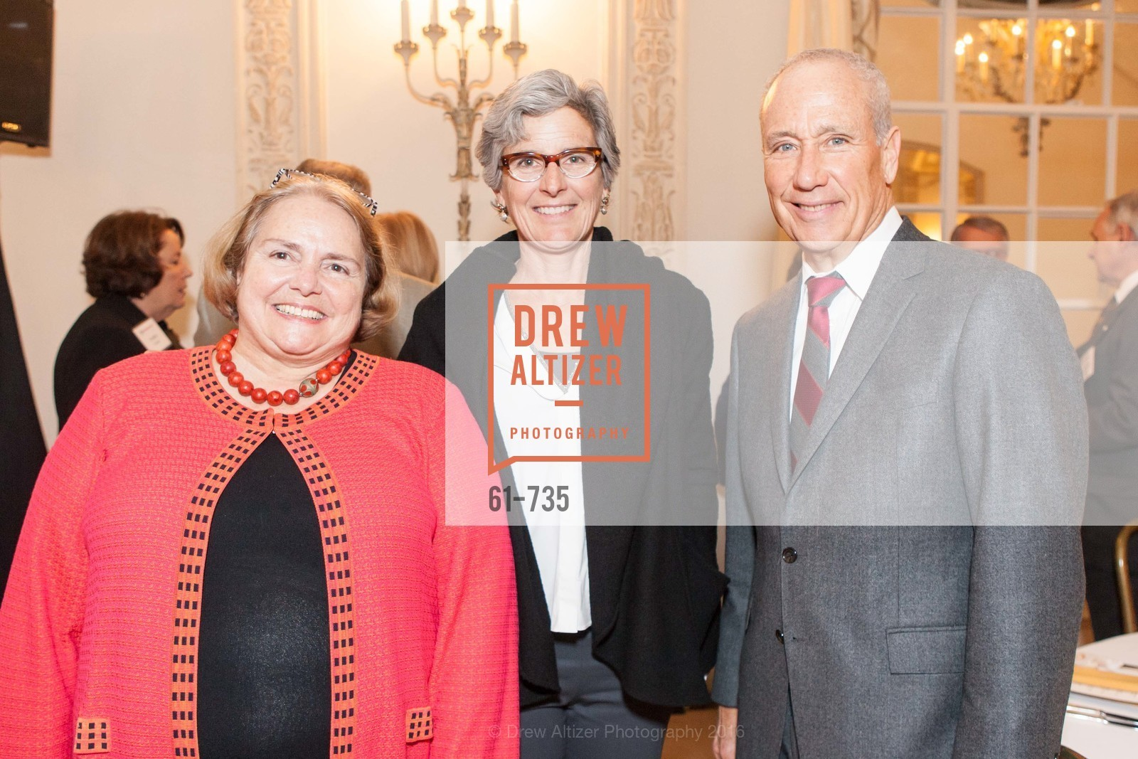 Camilla Smith, Anne Avis, John Boland, A Night with the NewsHour, Metropolitan Club. 640 Sutter Street, January 21st, 2016,Drew Altizer, Drew Altizer Photography, full-service agency, private events, San Francisco photographer, photographer california