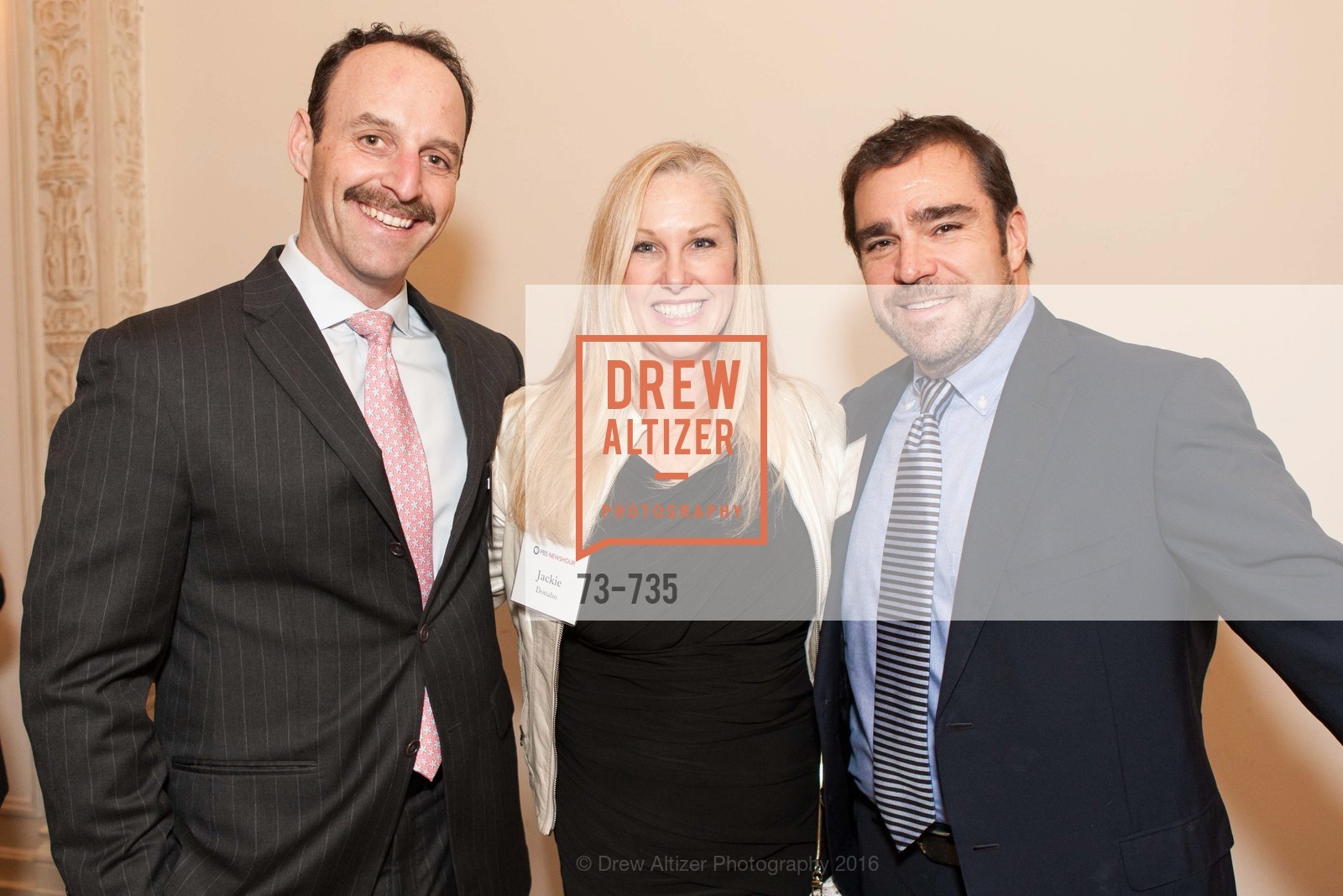 Jim Walter, Jackie Donaho, Brazos Donaho, A Night with the NewsHour, Metropolitan Club. 640 Sutter Street, January 21st, 2016,Drew Altizer, Drew Altizer Photography, full-service agency, private events, San Francisco photographer, photographer california
