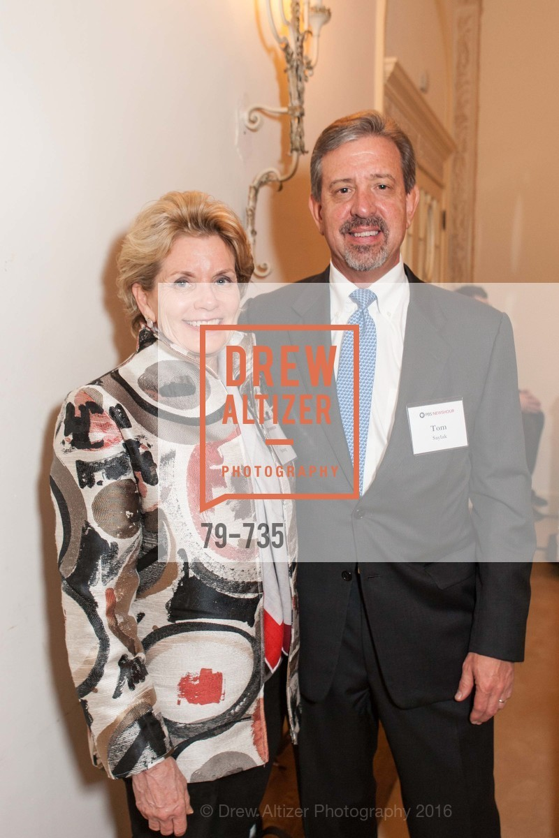 Joanne Nitzberg, Tom Saylak, A Night with the NewsHour, Metropolitan Club. 640 Sutter Street, January 21st, 2016,Drew Altizer, Drew Altizer Photography, full-service agency, private events, San Francisco photographer, photographer california