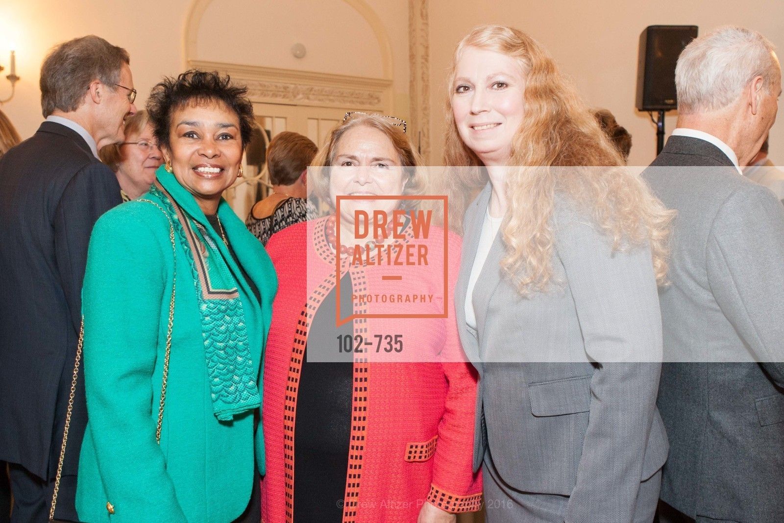 Anette Harris, Camilla Smith, Traci Eckels, A Night with the NewsHour, Metropolitan Club. 640 Sutter Street, January 21st, 2016,Drew Altizer, Drew Altizer Photography, full-service agency, private events, San Francisco photographer, photographer california