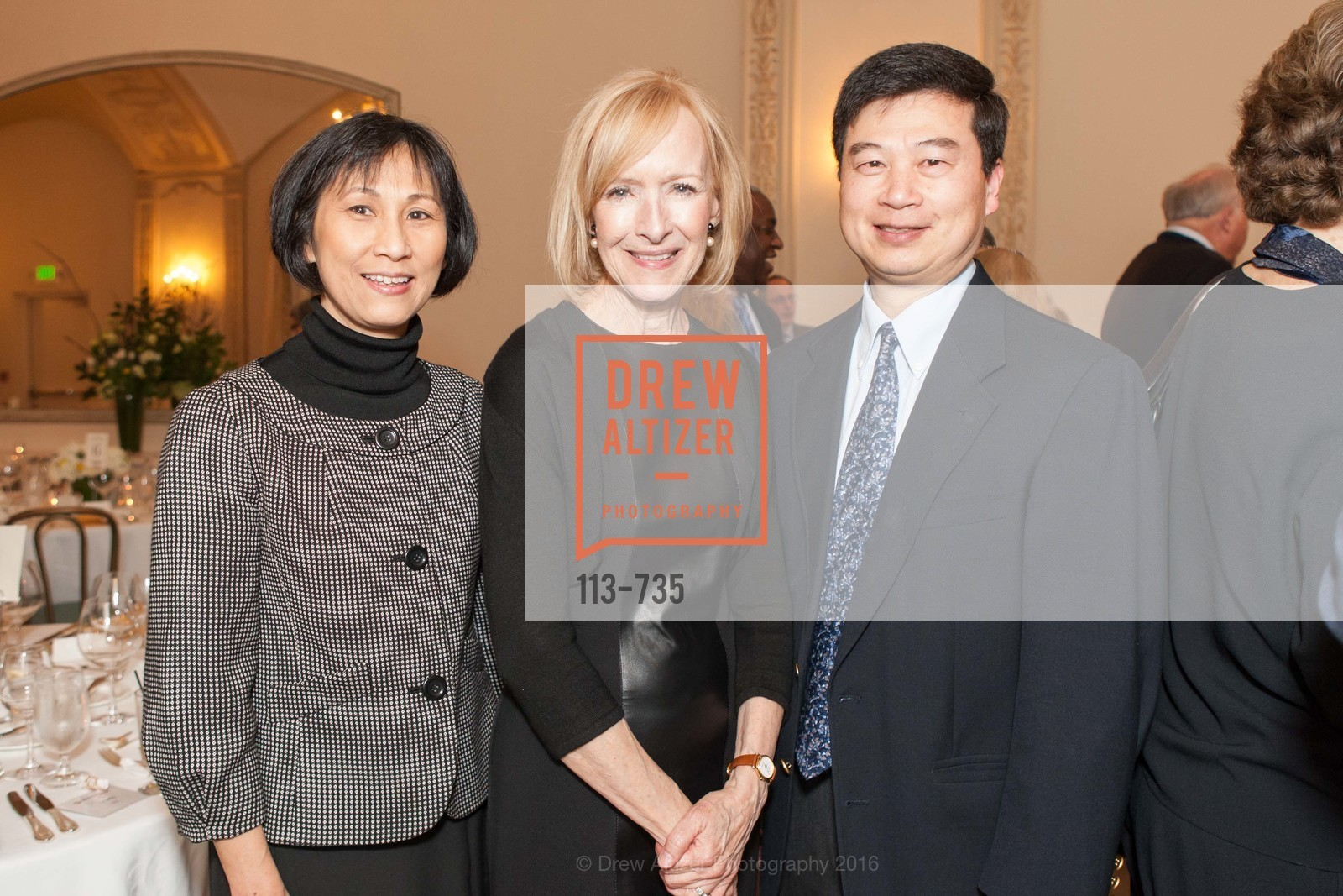 Abby Li, Judy Woodruff, Pui-Yan Kwok, A Night with the NewsHour, Metropolitan Club. 640 Sutter Street, January 21st, 2016,Drew Altizer, Drew Altizer Photography, full-service agency, private events, San Francisco photographer, photographer california