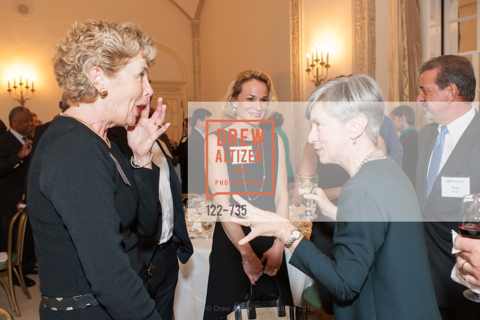 Mary Ellen Steiger, Laurie Saylak, A Night with the NewsHour, Metropolitan Club. 640 Sutter Street, January 21st, 2016,Drew Altizer, Drew Altizer Photography, full-service agency, private events, San Francisco photographer, photographer california