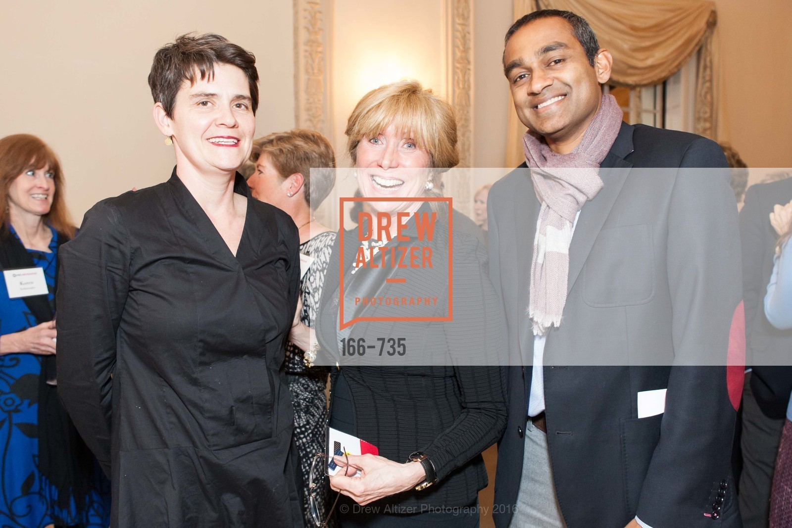 Sylvia Kennedy, Franmarie Kennedy, Arjun Costa, A Night with the NewsHour, Metropolitan Club. 640 Sutter Street, January 21st, 2016,Drew Altizer, Drew Altizer Photography, full-service agency, private events, San Francisco photographer, photographer california