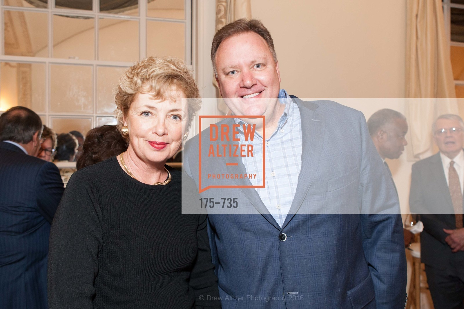 Mary Ellen Steiger, David DesJardin, A Night with the NewsHour, Metropolitan Club. 640 Sutter Street, January 21st, 2016,Drew Altizer, Drew Altizer Photography, full-service agency, private events, San Francisco photographer, photographer california