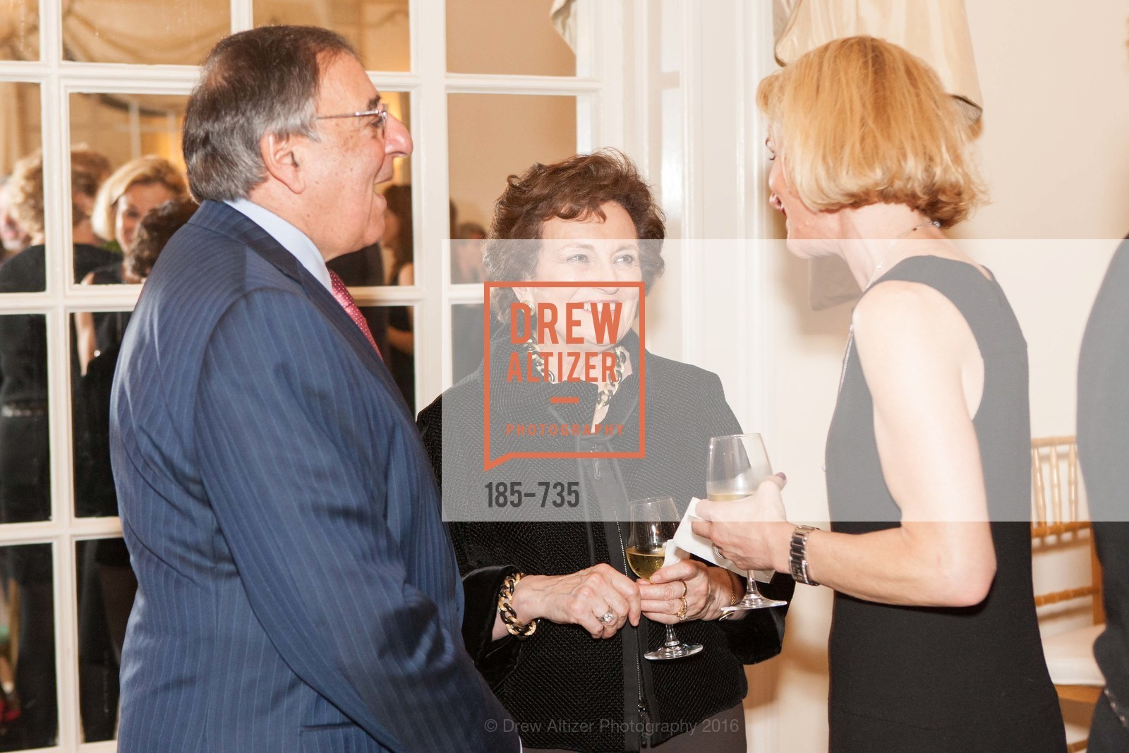 Leon Panetta, Sylvia Panetta, Judy Woodruff, A Night with the NewsHour, Metropolitan Club. 640 Sutter Street, January 21st, 2016,Drew Altizer, Drew Altizer Photography, full-service agency, private events, San Francisco photographer, photographer california