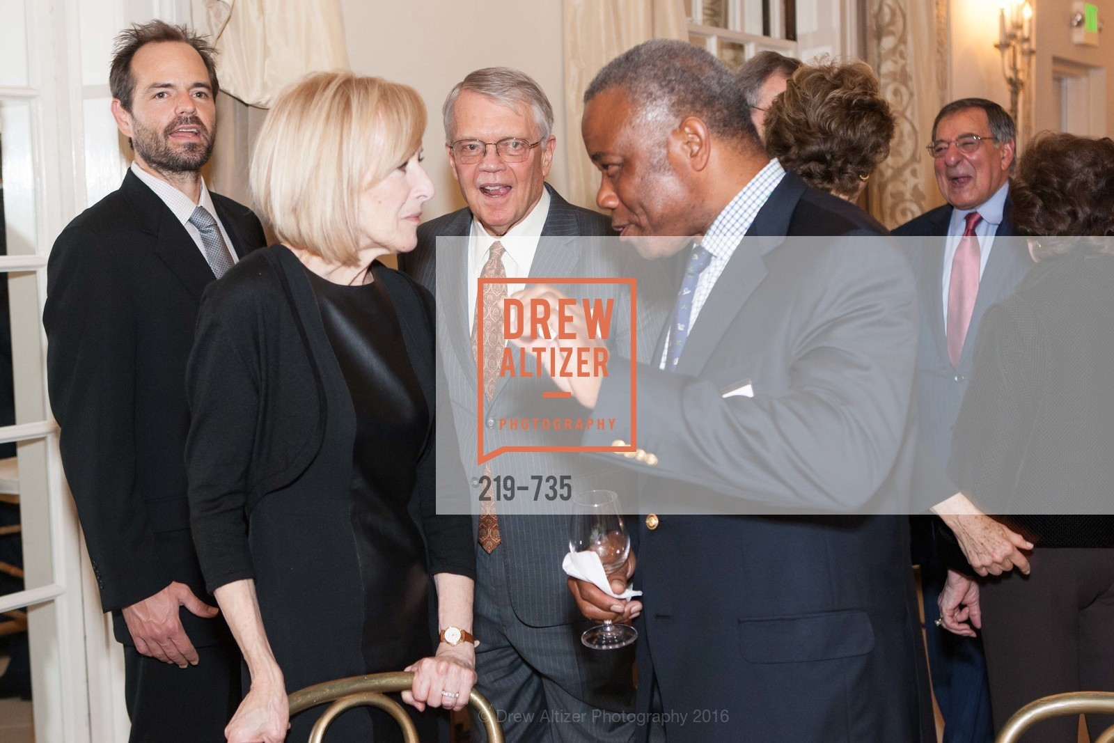 Judy Woodruff, Victor Hymes, A Night with the NewsHour, Metropolitan Club. 640 Sutter Street, January 21st, 2016,Drew Altizer, Drew Altizer Photography, full-service agency, private events, San Francisco photographer, photographer california