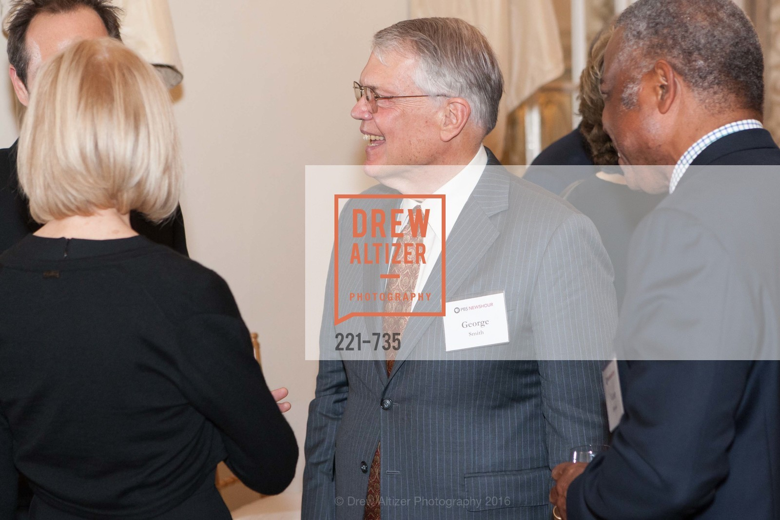 George Smith, A Night with the NewsHour, Metropolitan Club. 640 Sutter Street, January 21st, 2016,Drew Altizer, Drew Altizer Photography, full-service agency, private events, San Francisco photographer, photographer california