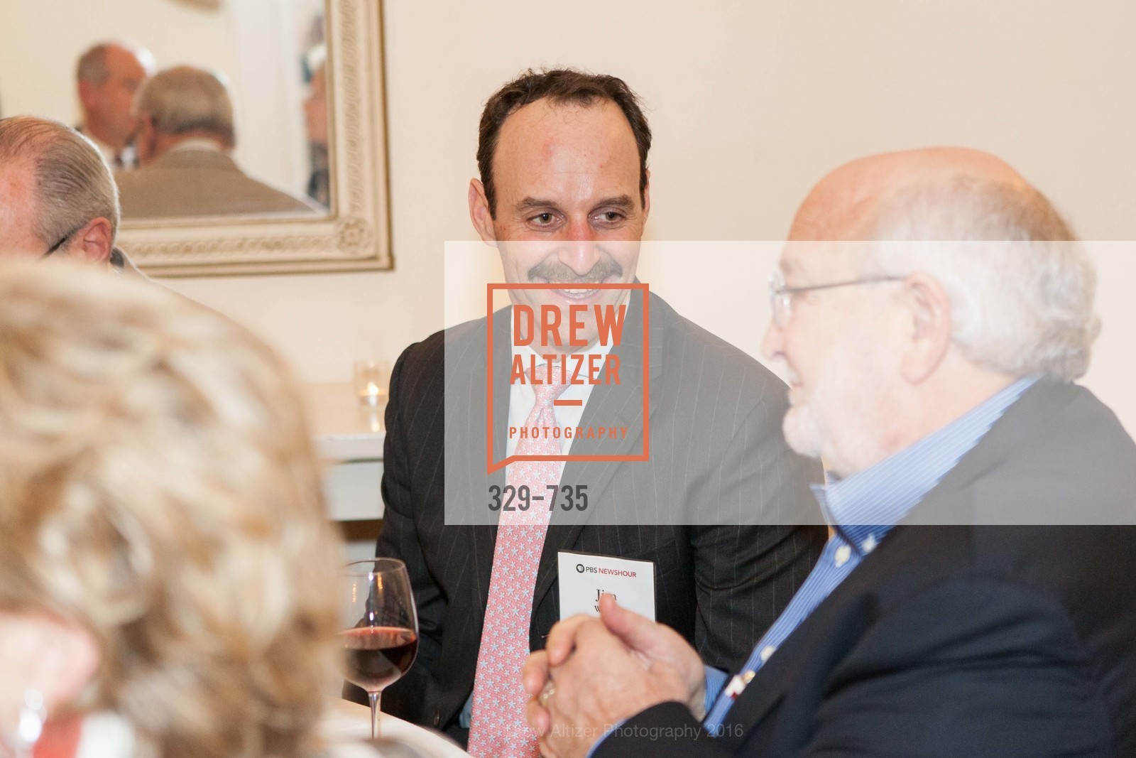 Jim Walter, Ken Nitzberg, A Night with the NewsHour, Metropolitan Club. 640 Sutter Street, January 21st, 2016,Drew Altizer, Drew Altizer Photography, full-service agency, private events, San Francisco photographer, photographer california