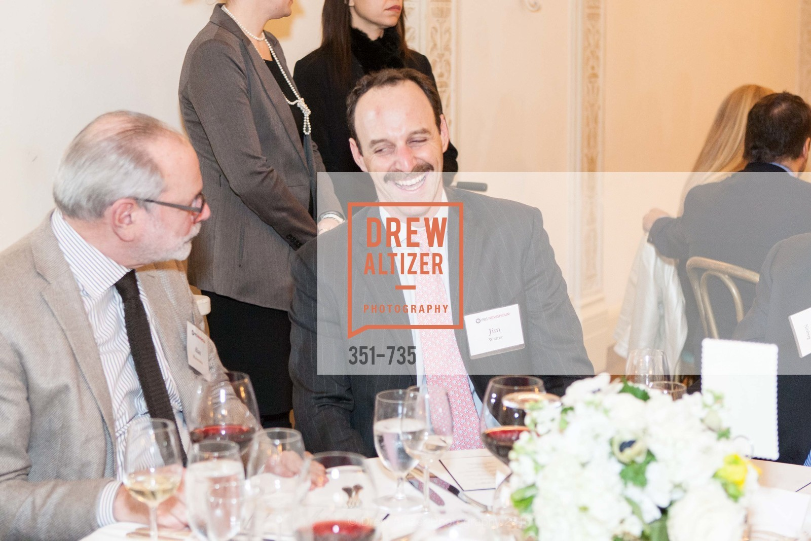 Alan Pomerantz, Jim Walter, A Night with the NewsHour, Metropolitan Club. 640 Sutter Street, January 21st, 2016,Drew Altizer, Drew Altizer Photography, full-service agency, private events, San Francisco photographer, photographer california