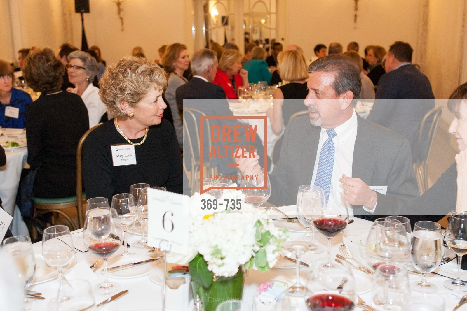 Mary Ellen Steiger, Tom Saylak, A Night with the NewsHour, Metropolitan Club. 640 Sutter Street, January 21st, 2016,Drew Altizer, Drew Altizer Photography, full-service agency, private events, San Francisco photographer, photographer california