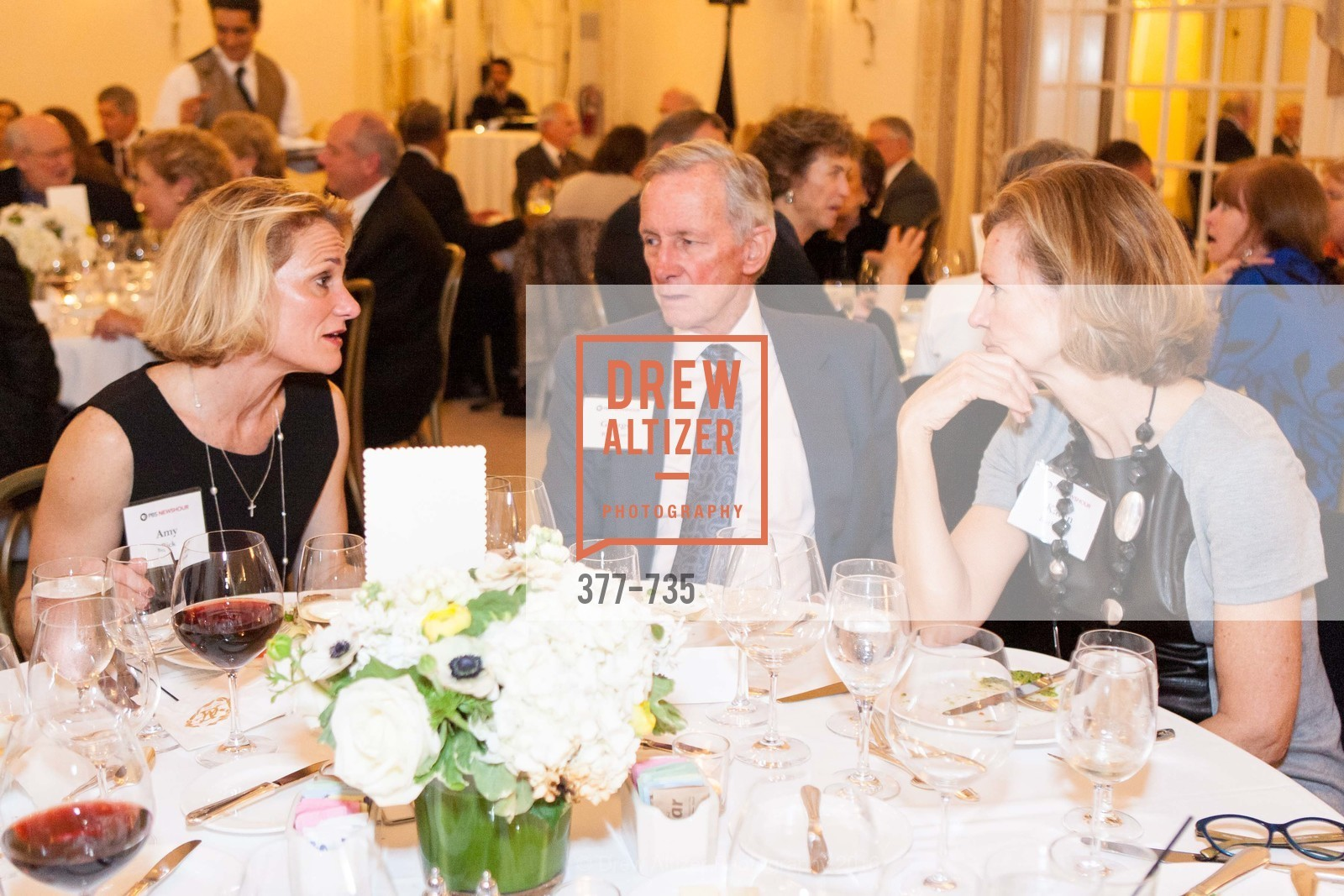 Amy Bick, George Rathman, Karen Rathman, A Night with the NewsHour, Metropolitan Club. 640 Sutter Street, January 21st, 2016,Drew Altizer, Drew Altizer Photography, full-service agency, private events, San Francisco photographer, photographer california
