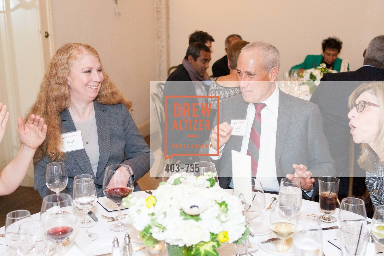 Traci Eckels, John Boland, A Night with the NewsHour, Metropolitan Club. 640 Sutter Street, January 21st, 2016,Drew Altizer, Drew Altizer Photography, full-service agency, private events, San Francisco photographer, photographer california