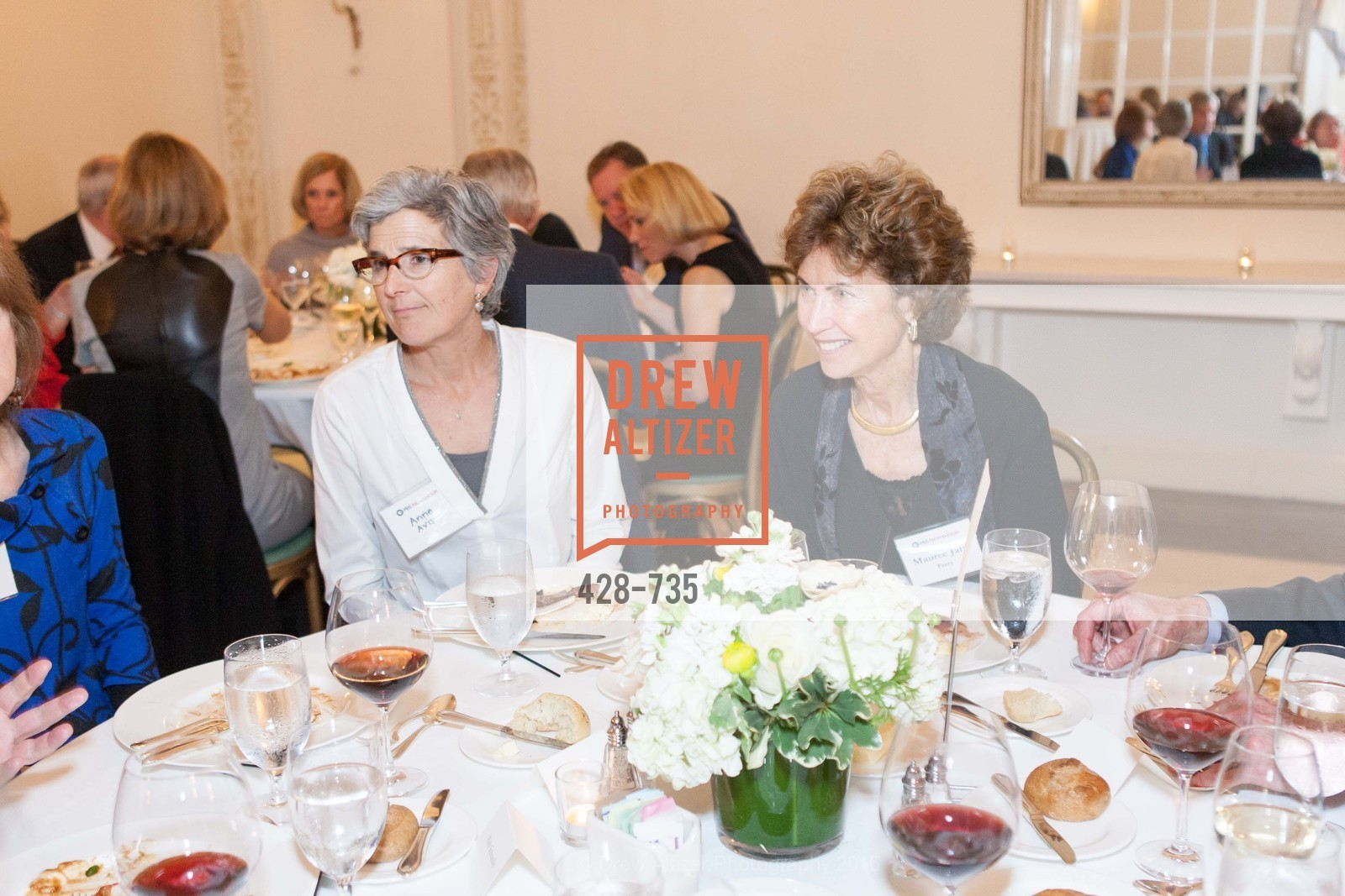 Anne Avis, Maureen Jane Perry, A Night with the NewsHour, Metropolitan Club. 640 Sutter Street, January 21st, 2016