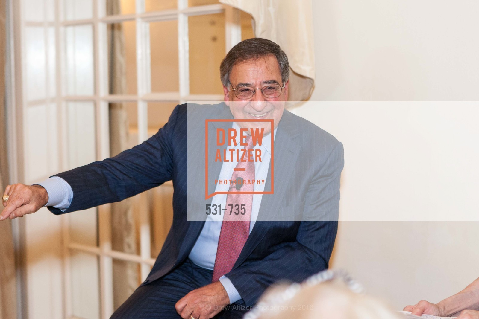 Leon Panetta, A Night with the NewsHour, Metropolitan Club. 640 Sutter Street, January 21st, 2016,Drew Altizer, Drew Altizer Photography, full-service agency, private events, San Francisco photographer, photographer california