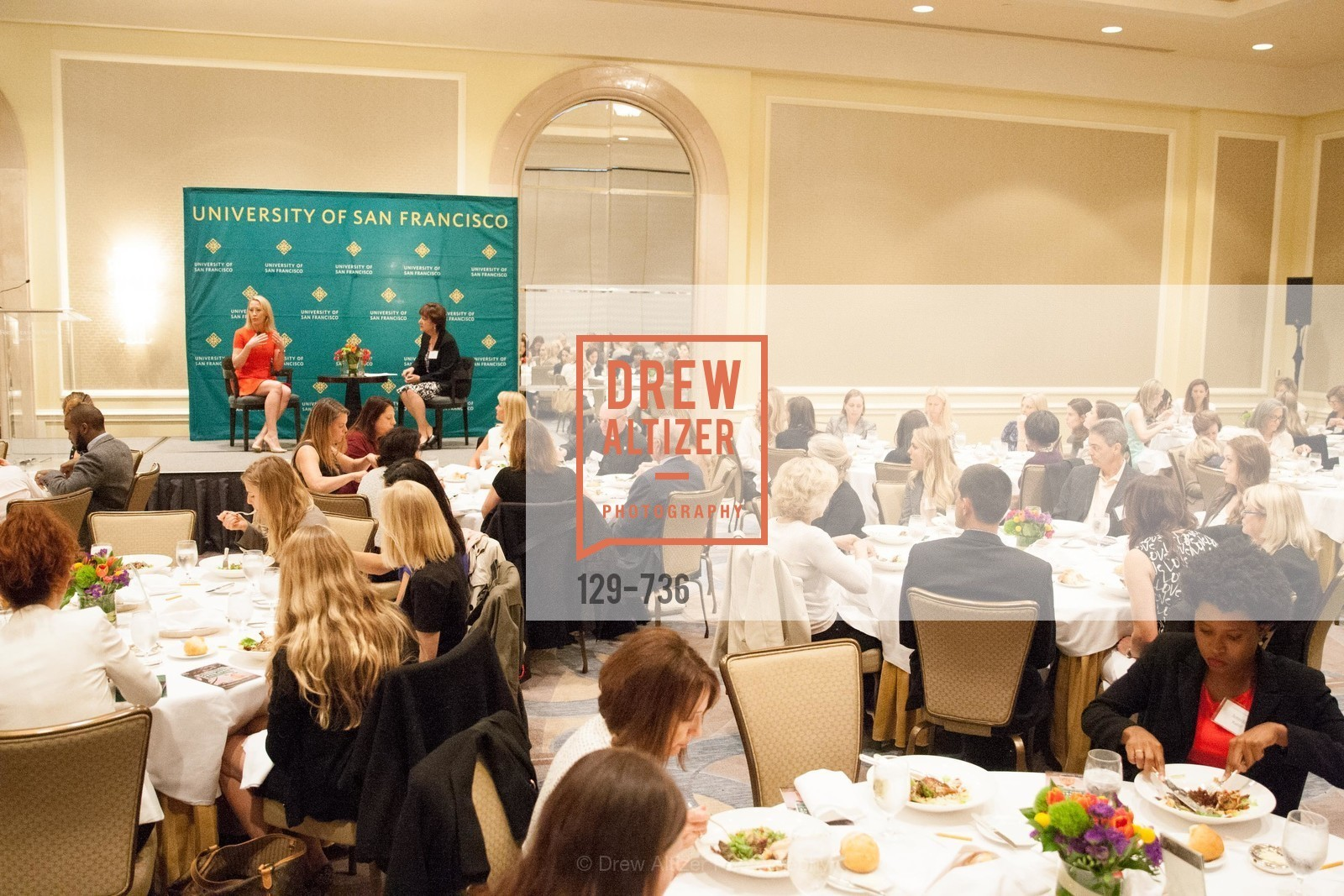 Julia Hartz, Rose Guibault, USF Women in Leadership and Philanthropy Luncheon With Julia Hartz, Co-Founder & President of EventBrite, US, May 16th, 2015,Drew Altizer, Drew Altizer Photography, full-service agency, private events, San Francisco photographer, photographer california