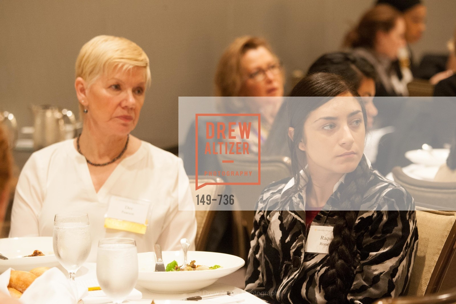Dee Pearson, Raquel Romero, USF Women in Leadership and Philanthropy Luncheon With Julia Hartz, Co-Founder & President of EventBrite, US, May 16th, 2015,Drew Altizer, Drew Altizer Photography, full-service agency, private events, San Francisco photographer, photographer california