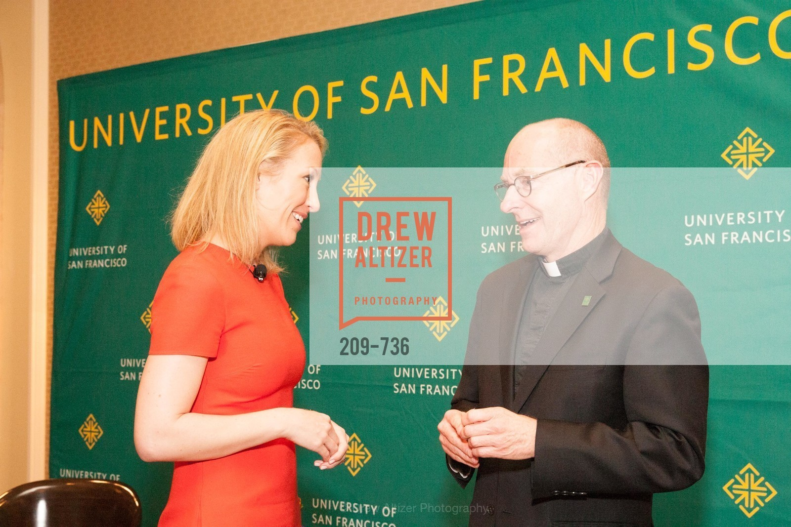 Julia Hartz, Father Paul Fitzgerald, USF Women in Leadership and Philanthropy Luncheon With Julia Hartz, Co-Founder & President of EventBrite, US, May 16th, 2015,Drew Altizer, Drew Altizer Photography, full-service agency, private events, San Francisco photographer, photographer california