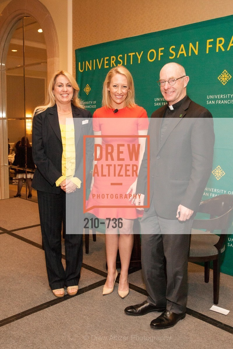 Jennifer Turpin, Julia Hartz, Father Paul Fitzgerald, USF Women in Leadership and Philanthropy Luncheon With Julia Hartz, Co-Founder & President of EventBrite, US, May 16th, 2015,Drew Altizer, Drew Altizer Photography, full-service agency, private events, San Francisco photographer, photographer california