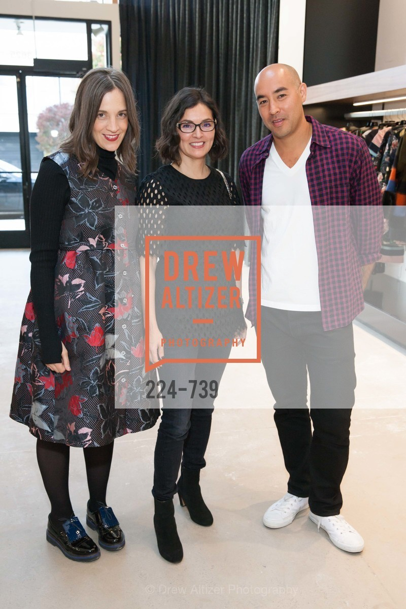 Erin Beatty, Claudia Ceniceros, Max Osterweis, BETTY LIN Store Opening - VIPS, US, May 20th, 2015,Drew Altizer, Drew Altizer Photography, full-service agency, private events, San Francisco photographer, photographer california