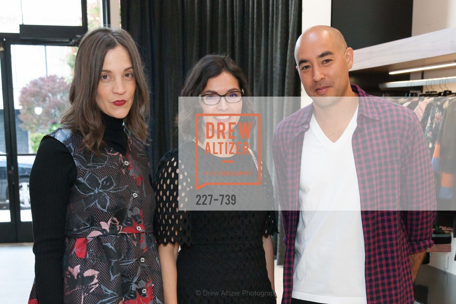 Erin Beatty, Claudia Ceniceros, Max Osterweis, BETTY LIN Store Opening - VIPS, US, May 19th, 2015,Drew Altizer, Drew Altizer Photography, full-service agency, private events, San Francisco photographer, photographer california