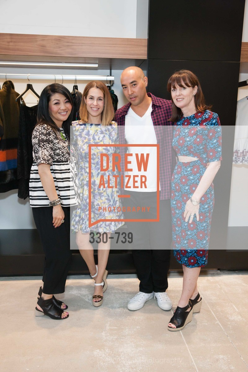 Betty Lin, Ali Pincus, Max Osterweis, Allison Speer, BETTY LIN Store Opening - VIPS, US, May 20th, 2015,Drew Altizer, Drew Altizer Photography, full-service agency, private events, San Francisco photographer, photographer california
