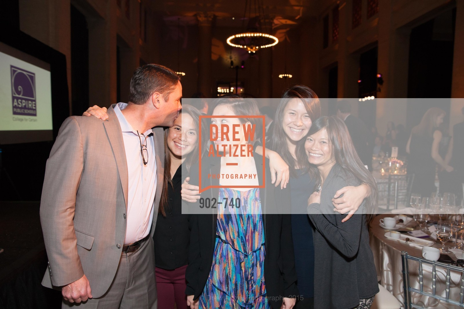 James Willcox, Madison Willcox, Frankie Willcox, Andrea Willcox, Simone Willcox, Aspire Annual College for Certain Dinne, US, May 21st, 2015,Drew Altizer, Drew Altizer Photography, full-service agency, private events, San Francisco photographer, photographer california