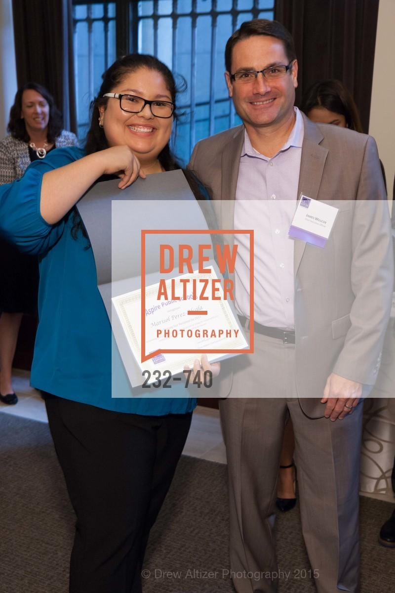 Marisol Perez Alcala, James Willcox, Aspire Annual College for Certain Dinne, US, May 21st, 2015,Drew Altizer, Drew Altizer Photography, full-service agency, private events, San Francisco photographer, photographer california