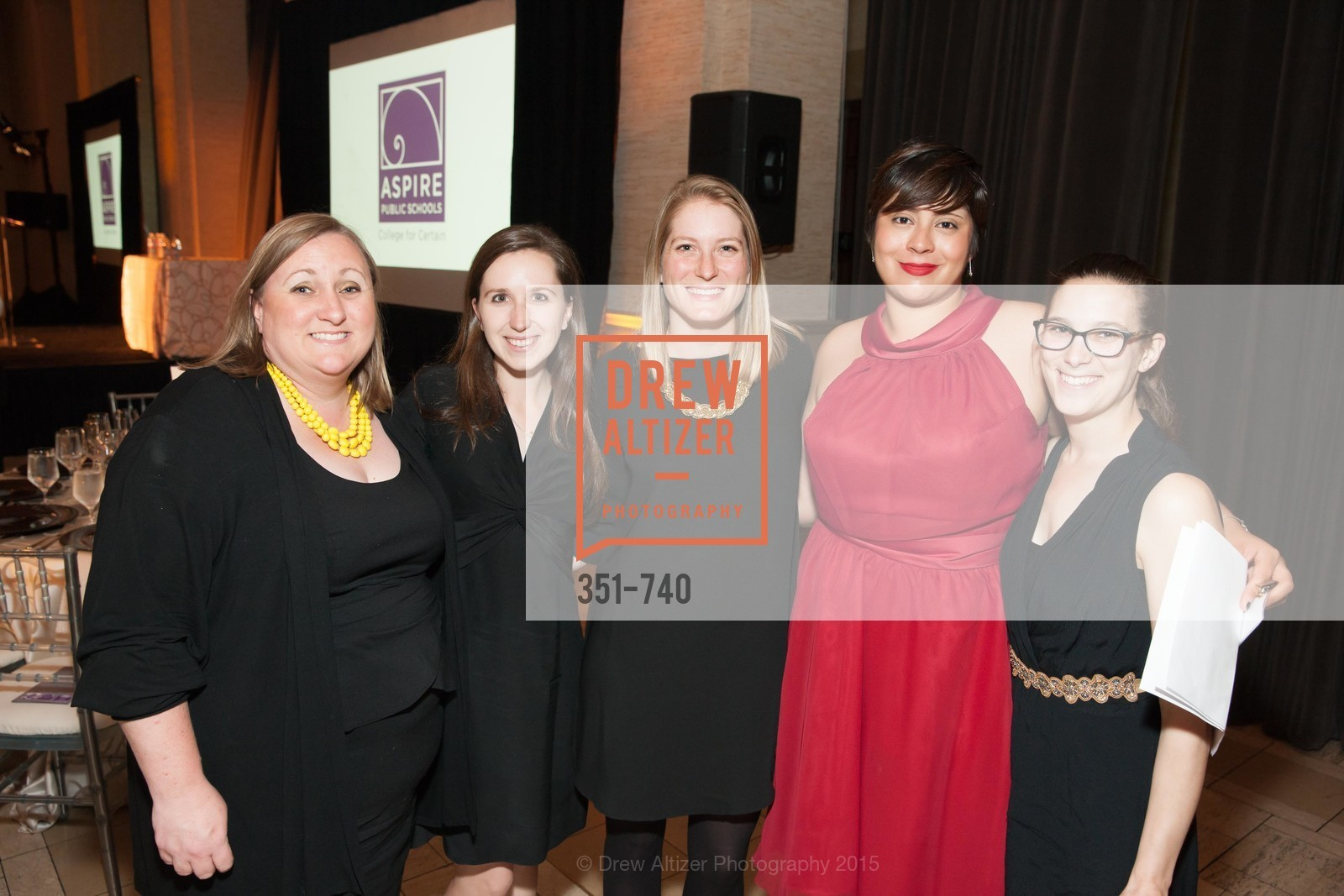 Sharon Johnson, Kate Barber, Devon Brown, Bianka Mariscal, Hanna Carla Newman, Aspire Annual College for Certain Dinne, US, May 21st, 2015,Drew Altizer, Drew Altizer Photography, full-service agency, private events, San Francisco photographer, photographer california