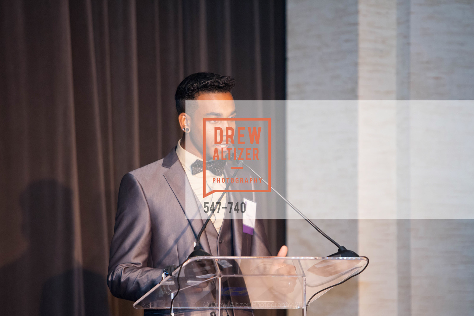 Xavier Taylor, Aspire Annual College for Certain Dinne, US, May 21st, 2015