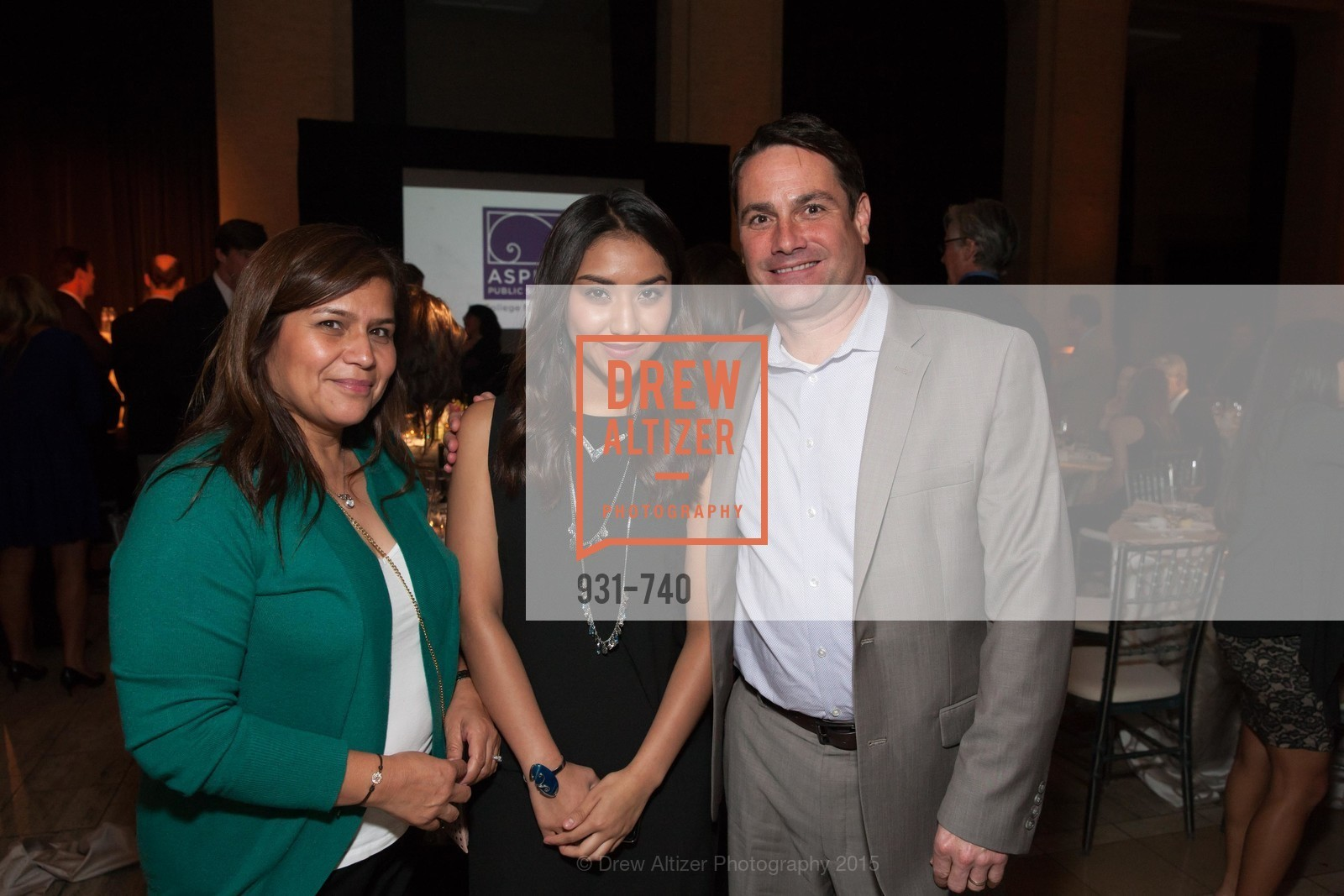 Laura Garcia, James Willcox, Aspire Annual College for Certain Dinne, US, May 21st, 2015,Drew Altizer, Drew Altizer Photography, full-service agency, private events, San Francisco photographer, photographer california