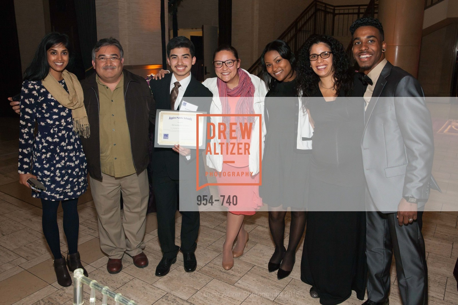 Minnie Setty, Alexander Lopez, Tatiana Lim, Arlena Ford, Sarah Salazar, Xavier Taylor, Aspire Annual College for Certain Dinne, US, May 20th, 2015,Drew Altizer, Drew Altizer Photography, full-service agency, private events, San Francisco photographer, photographer california