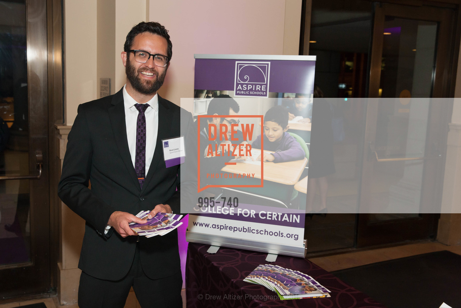 Ryan Cosens, Aspire Annual College for Certain Dinne, US, May 21st, 2015,Drew Altizer, Drew Altizer Photography, full-service agency, private events, San Francisco photographer, photographer california