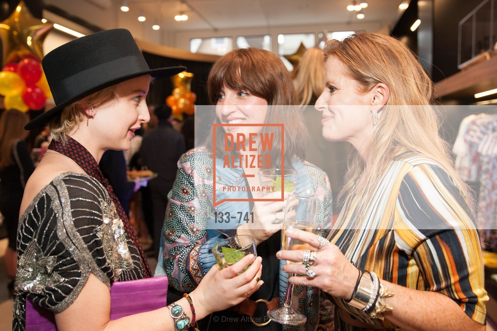 Brittany Cade Dirnt, Trina Patini, Carolina Luzarraga, BETTY LIN STORE Opening, US, May 21st, 2015,Drew Altizer, Drew Altizer Photography, full-service agency, private events, San Francisco photographer, photographer california