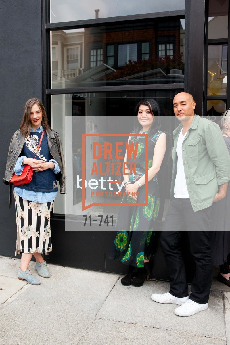 Erin Beatty, Betty Lin, Max Osterweis, BETTY LIN STORE Opening, US, May 20th, 2015,Drew Altizer, Drew Altizer Photography, full-service agency, private events, San Francisco photographer, photographer california