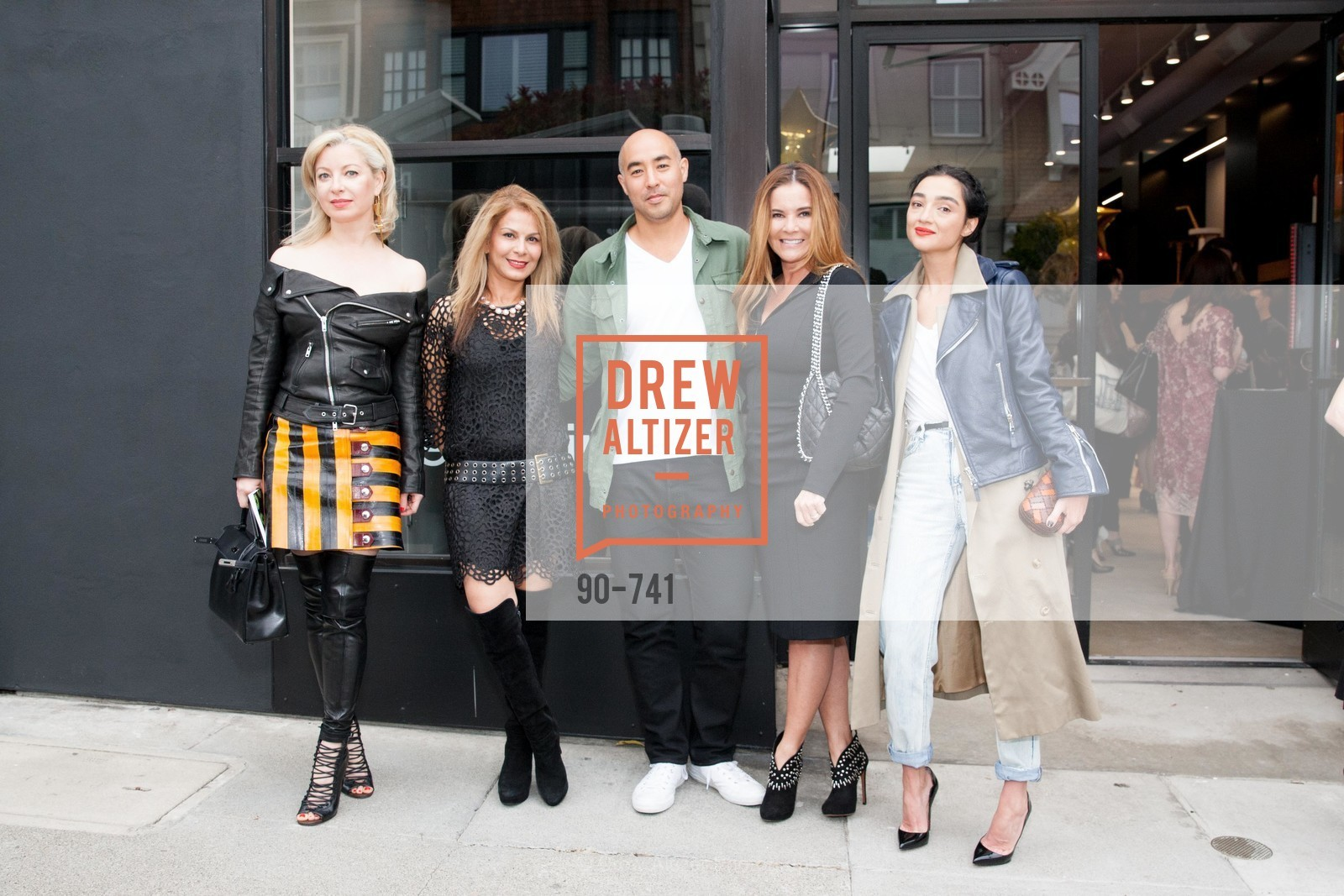 Sonya Molodetskaya, Ladan Mozafar, Max Osterweis, Judy Davies, Olya Dzilikhova, BETTY LIN STORE Opening, US, May 21st, 2015,Drew Altizer, Drew Altizer Photography, full-service agency, private events, San Francisco photographer, photographer california