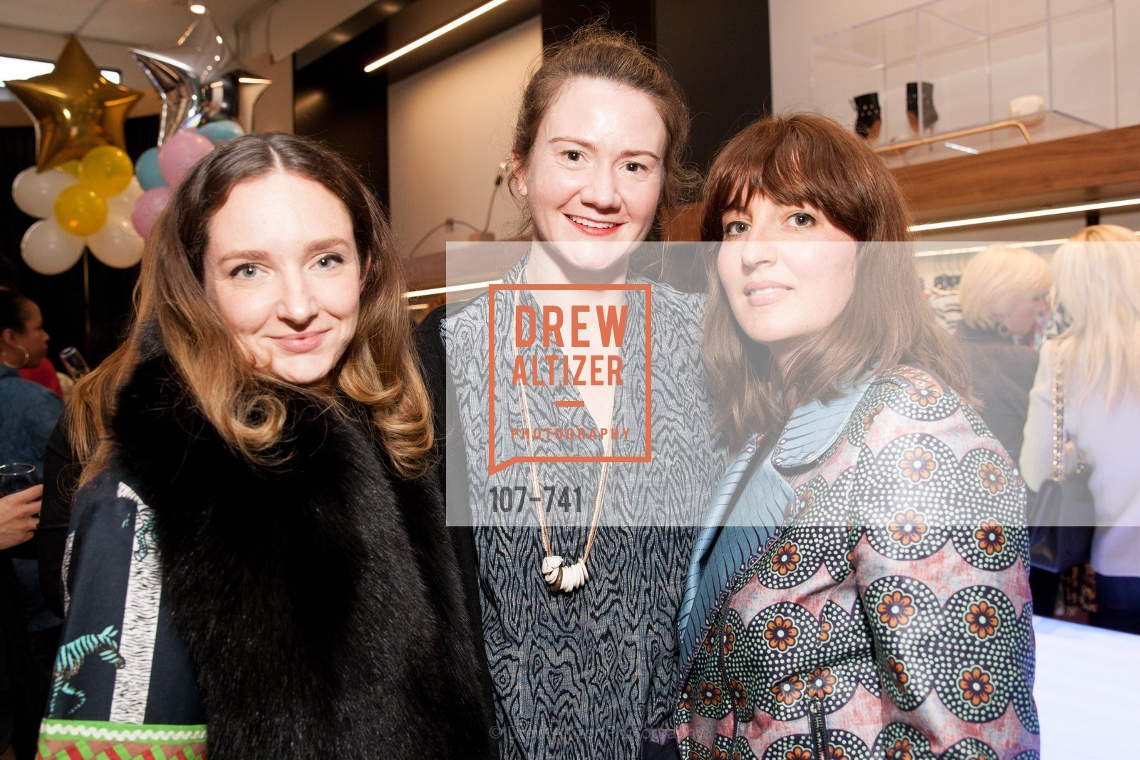 Kelly Punscall, Whitney Thornburg, Trina Patini, BETTY LIN STORE Opening, US, May 20th, 2015,Drew Altizer, Drew Altizer Photography, full-service agency, private events, San Francisco photographer, photographer california