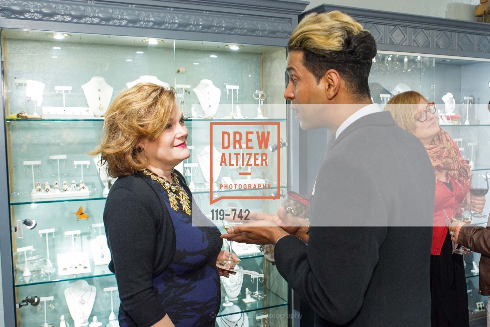 Jennifer Raiser, Emillio Mesa, LUXETIGERS & GALLERY OF JEWELS Benefit for Dress for Success, US, May 21st, 2015,Drew Altizer, Drew Altizer Photography, full-service agency, private events, San Francisco photographer, photographer california