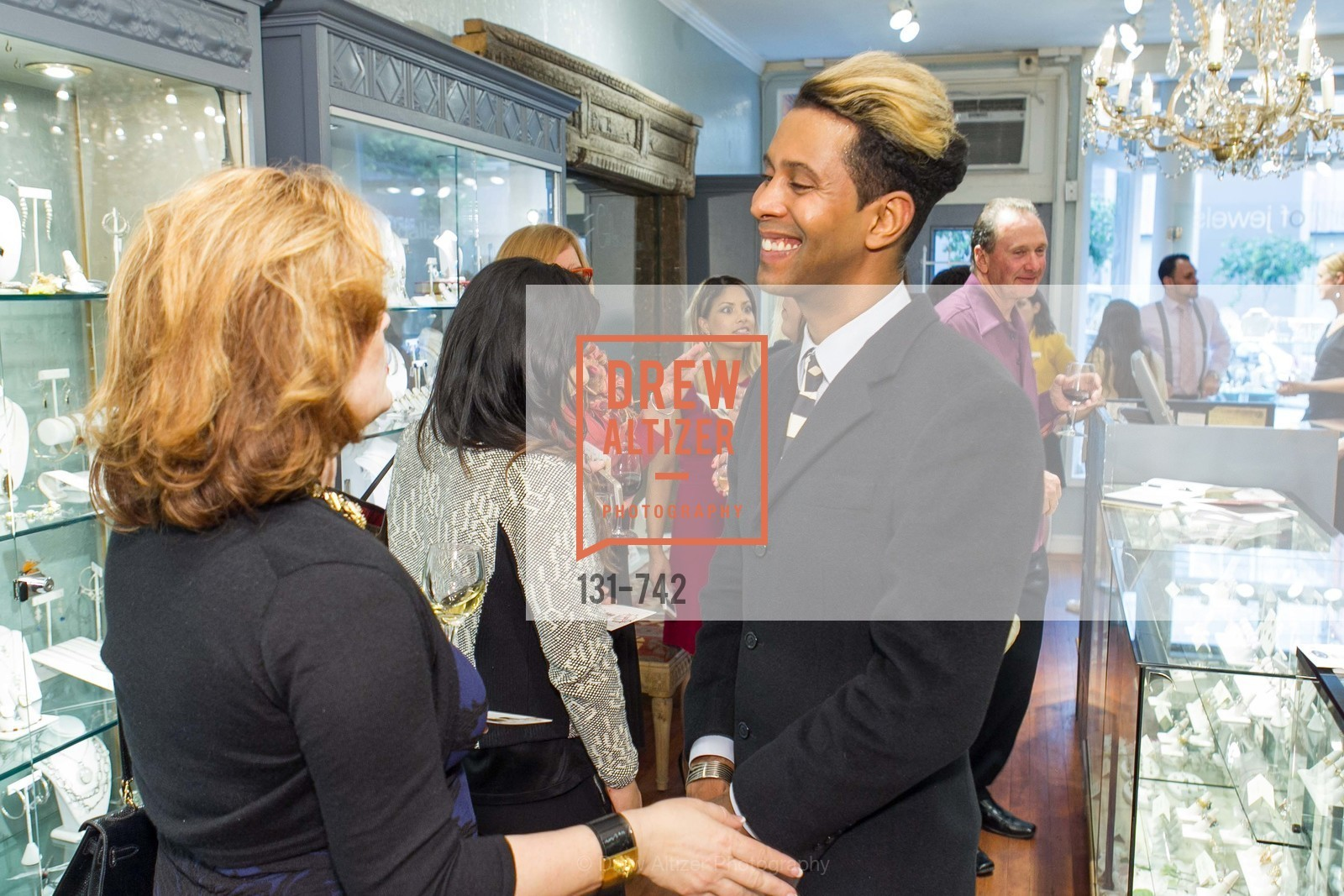 Emillio Mesa, LUXETIGERS & GALLERY OF JEWELS Benefit for Dress for Success, US, May 21st, 2015,Drew Altizer, Drew Altizer Photography, full-service agency, private events, San Francisco photographer, photographer california