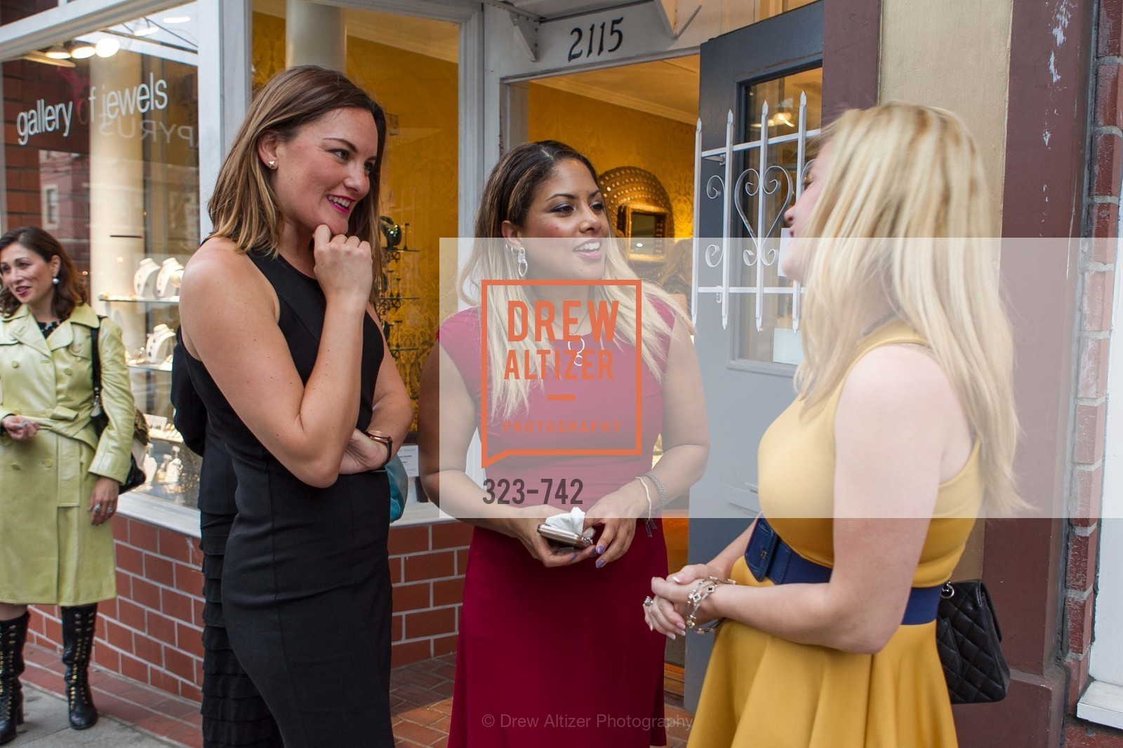Rena Ramirez, Danielle Shareshian, LUXETIGERS & GALLERY OF JEWELS Benefit for Dress for Success, US, May 21st, 2015,Drew Altizer, Drew Altizer Photography, full-service event agency, private events, San Francisco photographer, photographer California