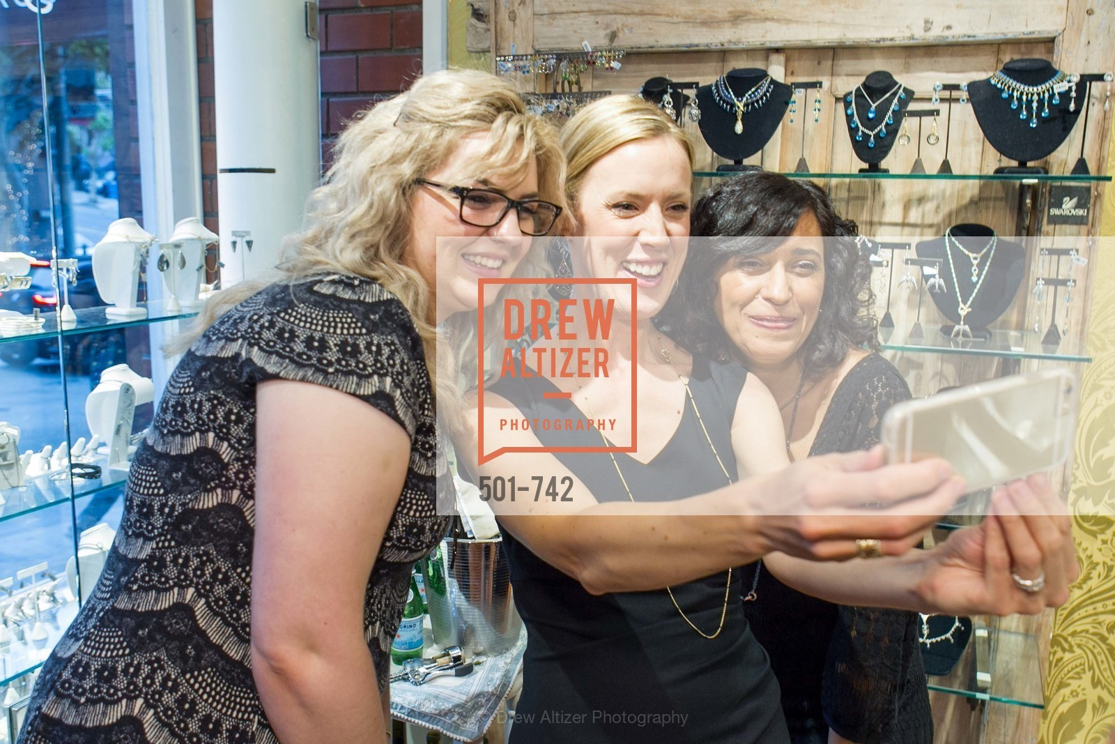 Brenda Belitskus, Nikki Ryan, Karina Lamhe, LUXETIGERS & GALLERY OF JEWELS Benefit for Dress for Success, US, May 21st, 2015,Drew Altizer, Drew Altizer Photography, full-service event agency, private events, San Francisco photographer, photographer California