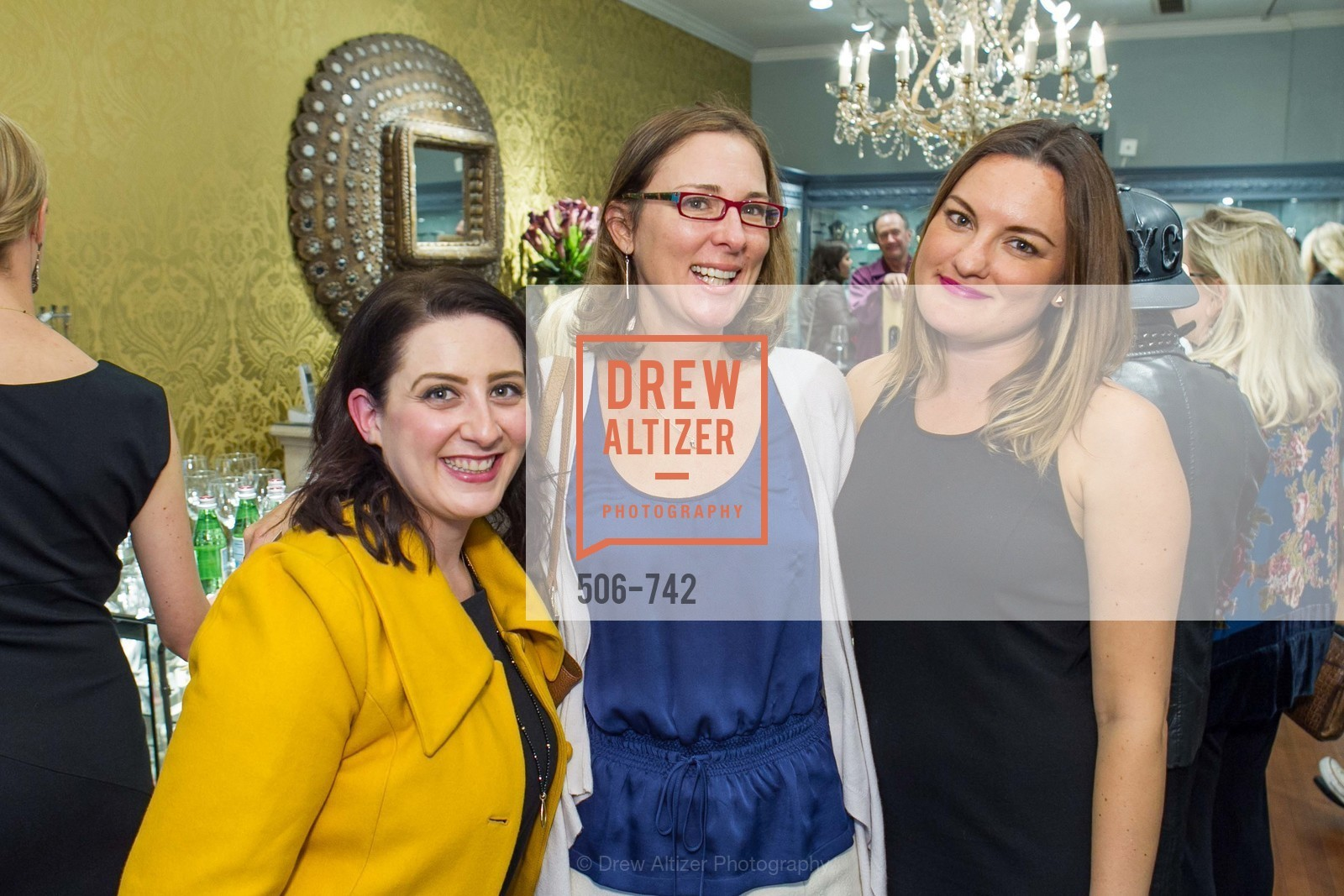 Gia Barsi, Julie Sims, Rena Ramirez, LUXETIGERS & GALLERY OF JEWELS Benefit for Dress for Success, US, May 20th, 2015,Drew Altizer, Drew Altizer Photography, full-service agency, private events, San Francisco photographer, photographer california