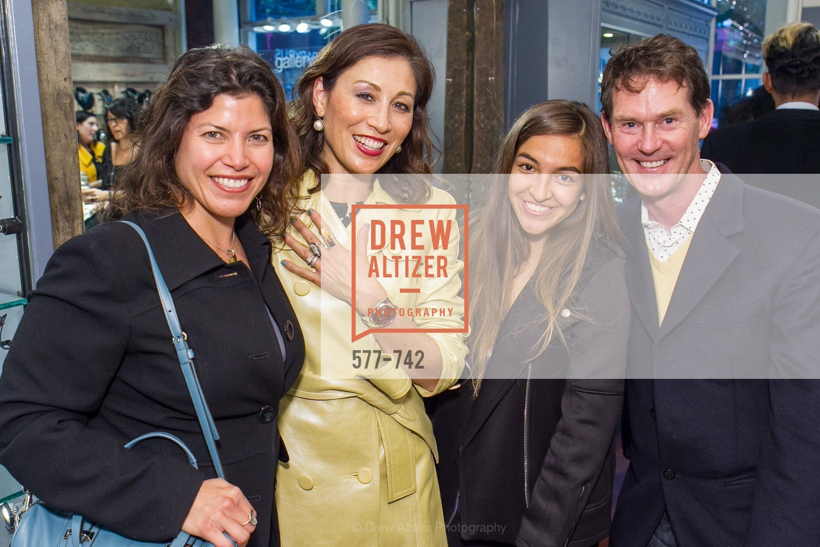 Alyssa Etzel, Michelle Pender, Emilie Rader, Ian Murray, LUXETIGERS & GALLERY OF JEWELS Benefit for Dress for Success, US, May 21st, 2015,Drew Altizer, Drew Altizer Photography, full-service agency, private events, San Francisco photographer, photographer california