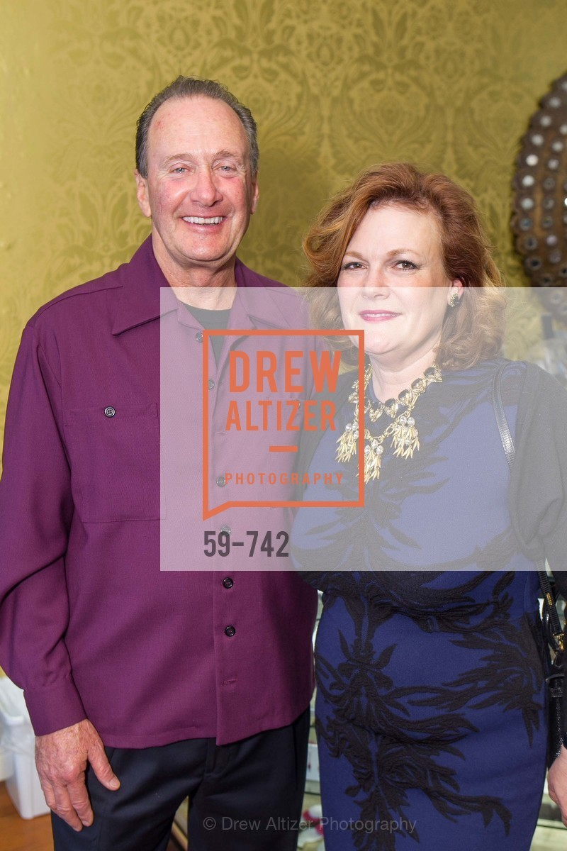 Bill Hoover, Jennifer Raiser, LUXETIGERS & GALLERY OF JEWELS Benefit for Dress for Success, US, May 21st, 2015,Drew Altizer, Drew Altizer Photography, full-service agency, private events, San Francisco photographer, photographer california