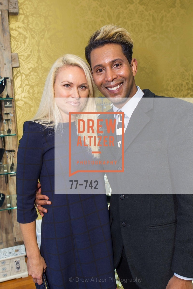 Maria Ralph, Emillio Mesa, LUXETIGERS & GALLERY OF JEWELS Benefit for Dress for Success, US, May 21st, 2015