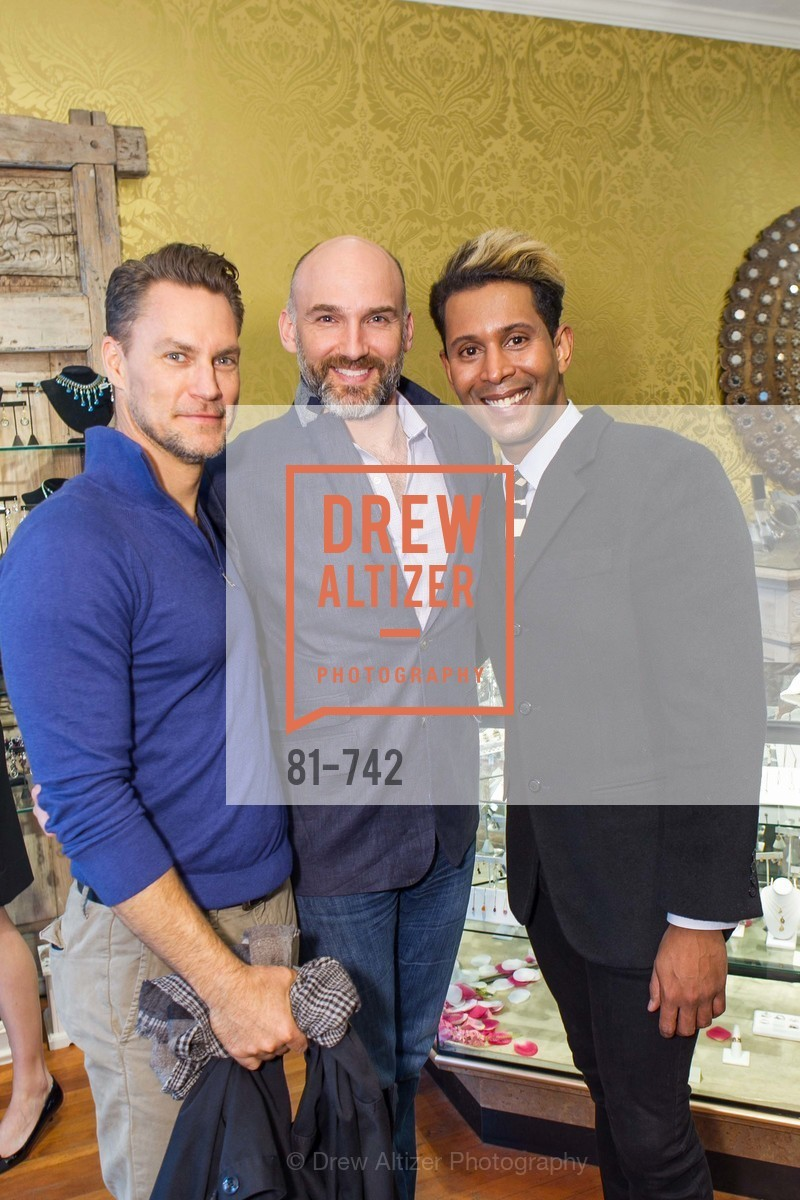 Alec Loughlin, Ian Stallings, Emillio Mesa, LUXETIGERS & GALLERY OF JEWELS Benefit for Dress for Success, US, May 21st, 2015,Drew Altizer, Drew Altizer Photography, full-service agency, private events, San Francisco photographer, photographer california