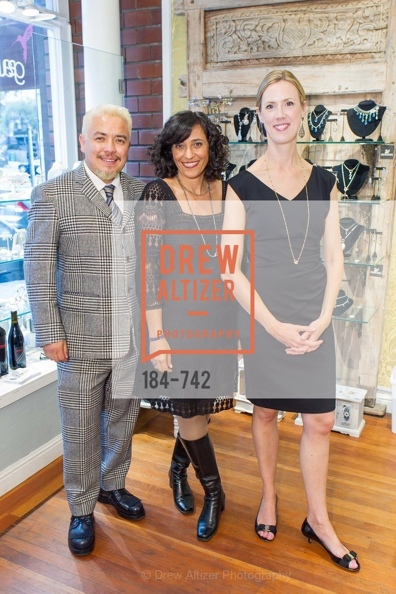 Victor Vargas, Karina Lamhe, Nikki Ryan, LUXETIGERS & GALLERY OF JEWELS Benefit for Dress for Success, US, May 21st, 2015,Drew Altizer, Drew Altizer Photography, full-service agency, private events, San Francisco photographer, photographer california