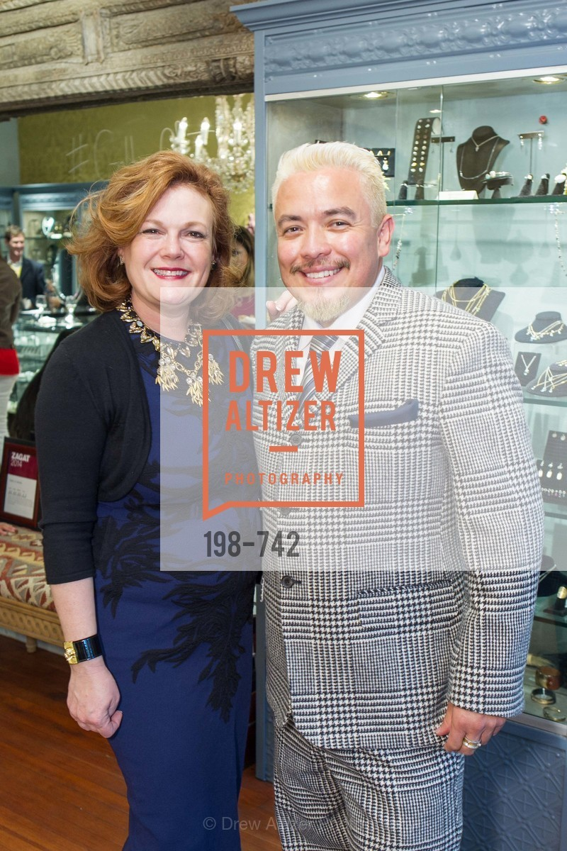 Jennifer Riaser, Victor Vargas, LUXETIGERS & GALLERY OF JEWELS Benefit for Dress for Success, US, May 21st, 2015,Drew Altizer, Drew Altizer Photography, full-service agency, private events, San Francisco photographer, photographer california