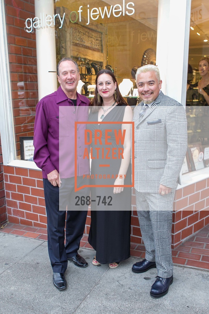 Bill Hoover, Erica Scott, Victor Vargas, LUXETIGERS & GALLERY OF JEWELS Benefit for Dress for Success, US, May 21st, 2015,Drew Altizer, Drew Altizer Photography, full-service agency, private events, San Francisco photographer, photographer california